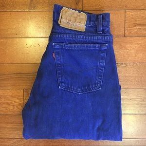 Levi's Made in USA 🇺🇸 High Waist Rise Wedgie 501